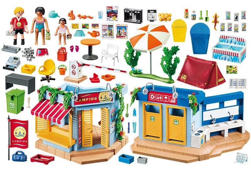 Contenido real de Playmobil® 70087 Camping