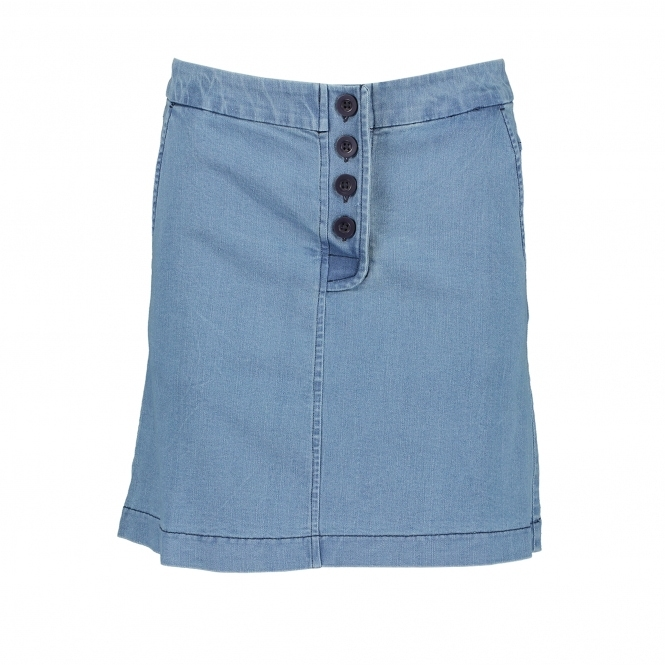 GREAT PLAINS Desert Denim Button Skirt