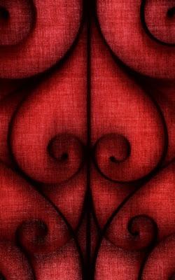 Astratto rosso di pizzicastelle