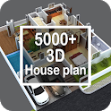 3D House Idea icon