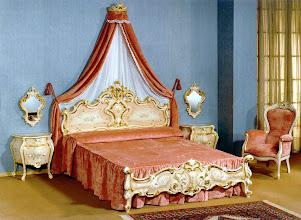Photo: Doppelbett venezianisch Barock