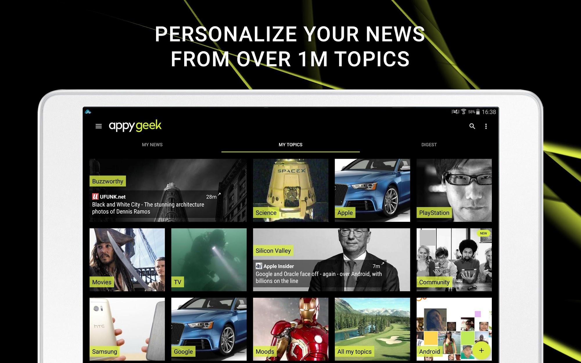 Appy Geek – Tech news screenshot #6