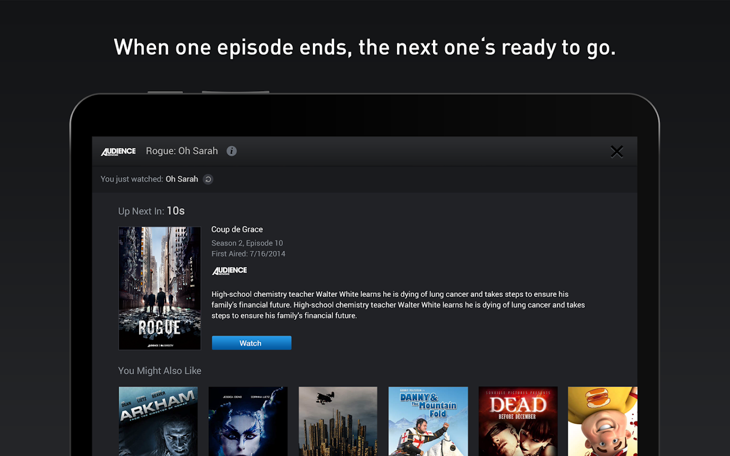 DIRECTV for Tablets- screenshot