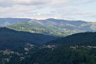Photo: Défilé de nuages sur l'Ardèche (samedi)