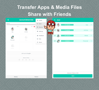 App Backup Restore Transfer- screenshot thumbnail