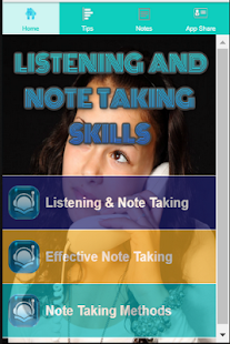 Listening And Note Taking Skills - náhled
