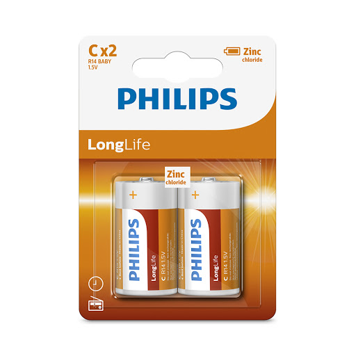 Pin Philips R14L2B (2C)