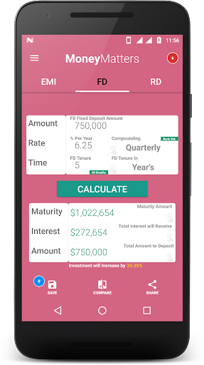 Loan Calculator-EMI, RD & FD Calculator screenshot 2