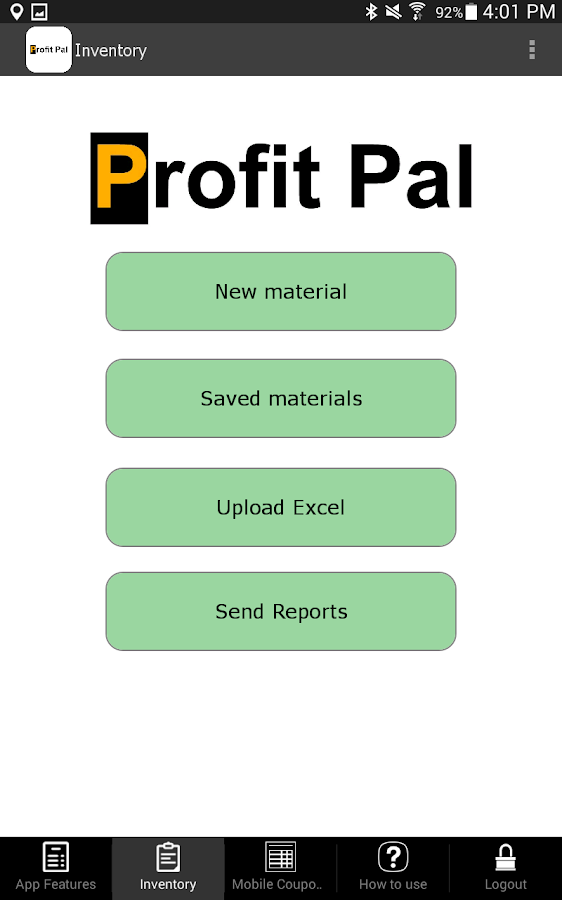 Profit Pal App for Invoices- screenshot