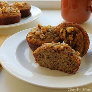Banana Walnut Coconut Flour Muffins (Paleo)