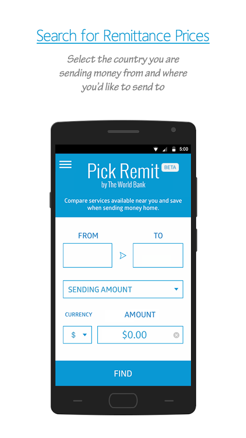 Pick Remit Beta- screenshot