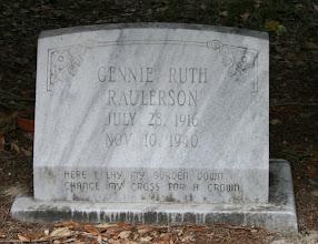 Photo: Gennie Ruth Raulerson / Family Unknown