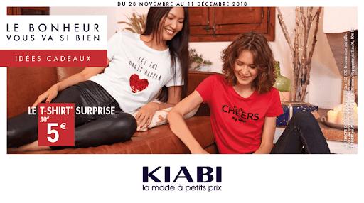 Idées cadeaux Kiabi