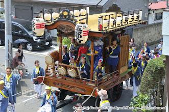 Photo: 【平成24年(2012) 本宮】  田中地区を巡行する山車。