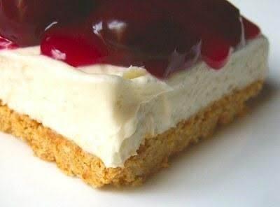 No Bake Cherry Cheesecake Recipe