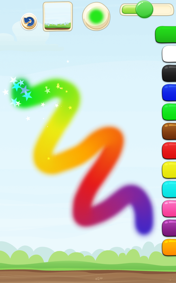 Toddler Paint and Draw- screenshot