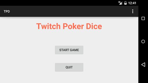 Twitch Poker Dice