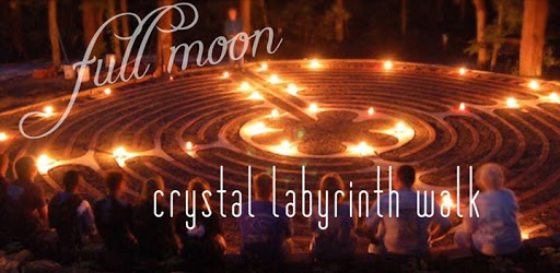 FULL MOON Crystal Labyrinth : LELC Studio