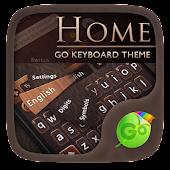 Home GO Keyboard Theme & Emoji