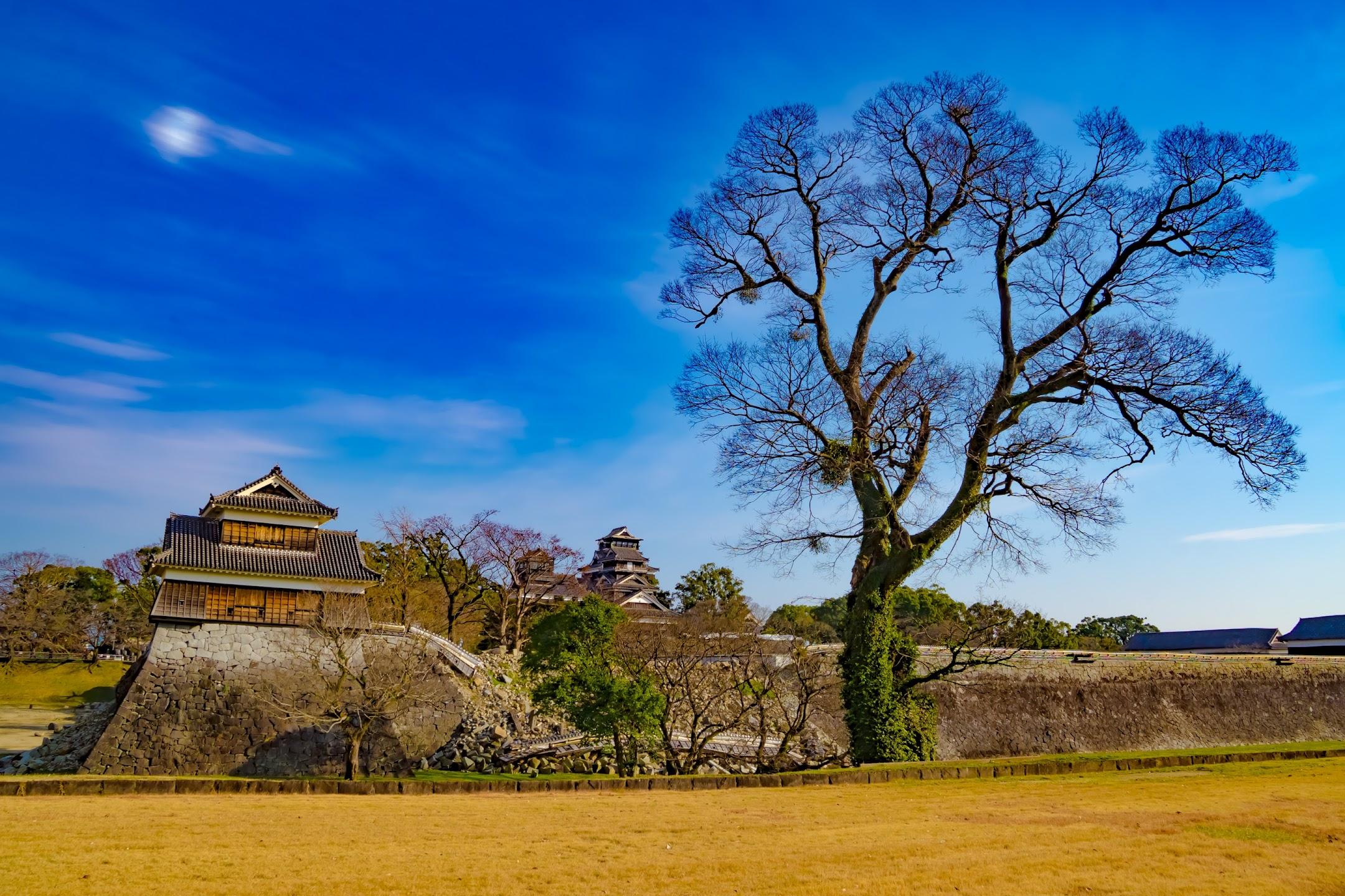 Kumamoto Castle Inui Turret3