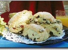 Lemony Blueberry Scones Recipe