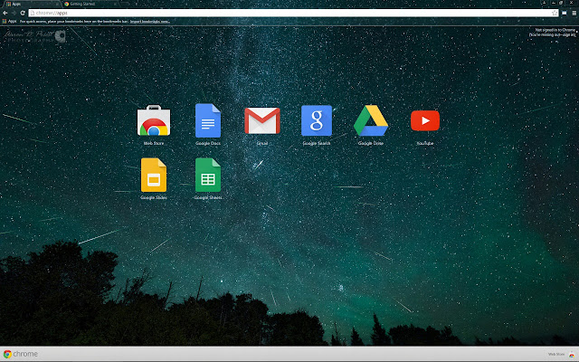 2015 Perseid Meteor Shower Theme For Google Chrome 1920x1200 Resolution