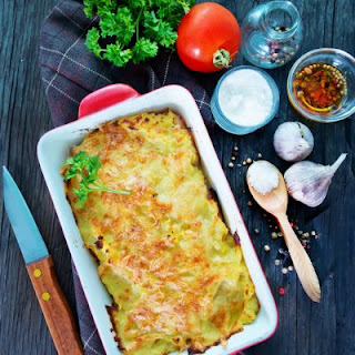 4 Ingredient Potato Casserole