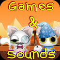 Kitten Games for Girls Free icon
