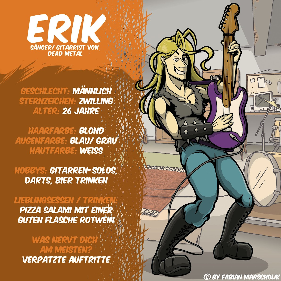 Steckbrief Erik