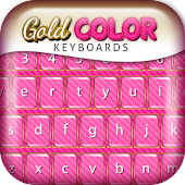 Gold Color Keyboard