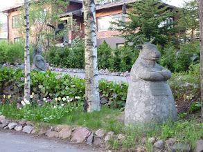 Photo: Elég furcsa kompozíció, és ez nem az összes szobor, van még a ház körül/rajta