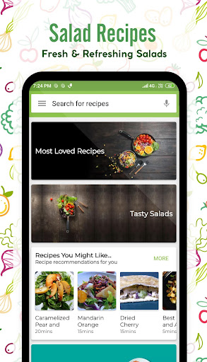 Salad Recipes 40.0.0 screenshots 1