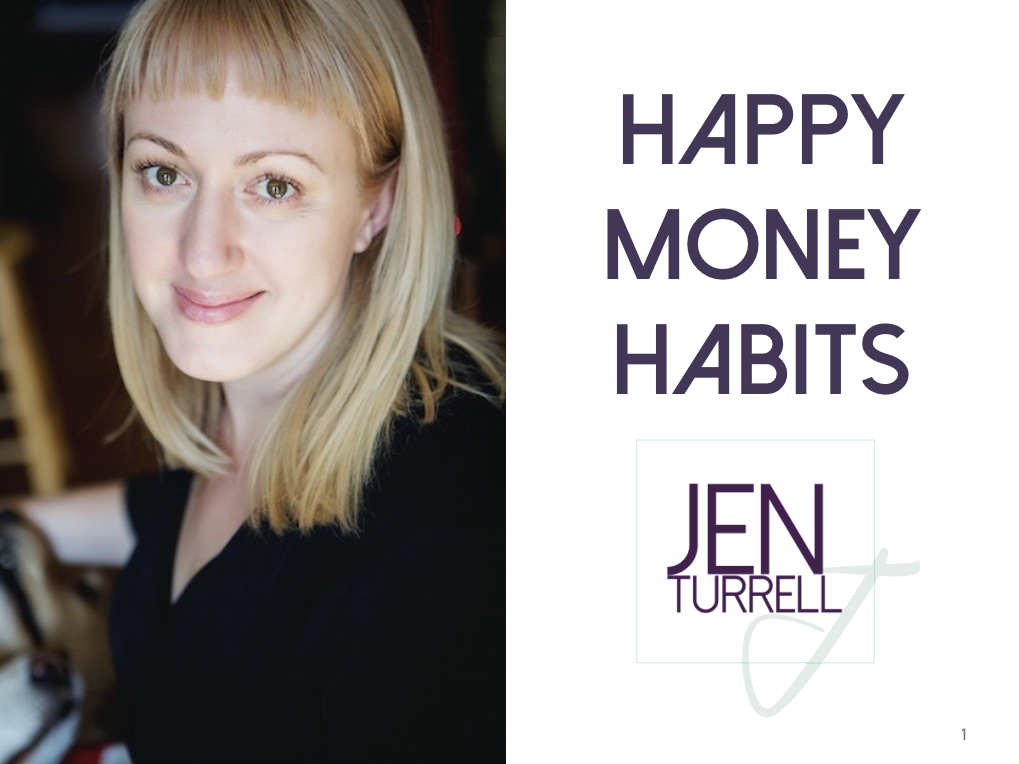 Happy Money Habits by Jen Turrell