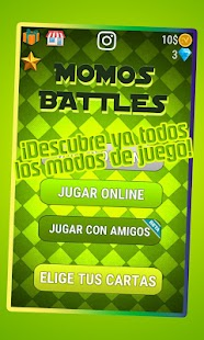 Momos Battles - náhled