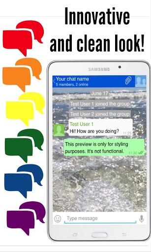Messenger App screenshot 1