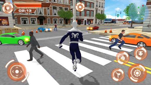 Flying Hero Iron Spider VS Mafia Fighter Adventure 2.3 screenshots 4