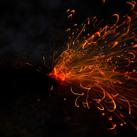 Fire work by Vineet Singh - Abstract Fire & Fireworks (  )