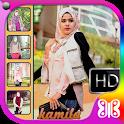 Hijab Jeans Selfie Camera icon