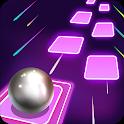 Magic Tiles Hop Ball 3d : EDM Music Games Free icon