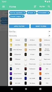 App FUT 19 Draft, Squad Builder & SBC - FUTBIN APK for Windows Phone