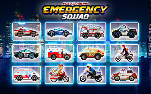Emergency Car Racing Hero - náhled