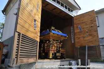 Photo: 【平成26年(2014) 宵々宮】 宵々宮。神輿の蔵出し。
