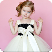 Baby Girl Dress Photo Editor : Face Changer