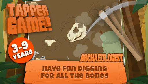 dinosaurs for kids : archaeologist - jurassic life screenshot 1