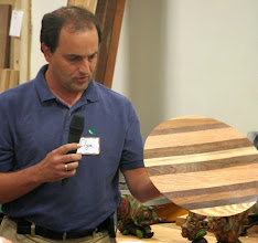 Photo: Ilya Zavorin tried his hand at laminating with butcher block materials.