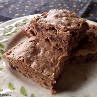 Hint of Peanut Butter ~ Brownies