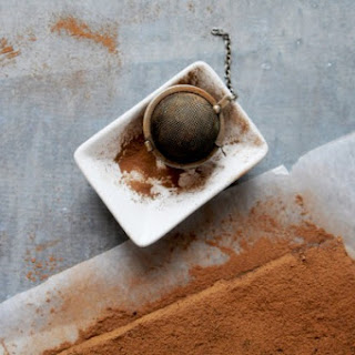 Luxurious (nut free) Saffron Brownies