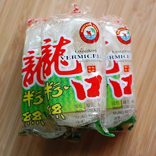 Mung Bean Noodles Salad.