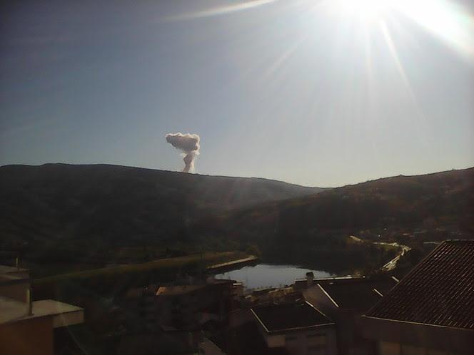 Fábrica de pirotecnia explode em Lamego