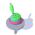 Icing Master 3D - Fun casual cake making game icon